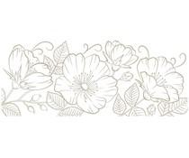Spellbinders Sweet Blooms Border Glimmer Hot Foil Plate (GLP-234)