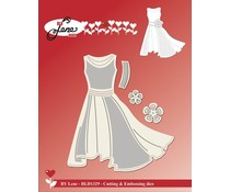 By Lene Dress Cutting & Embossing Dies (BLD1329)