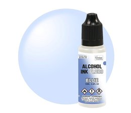 Couture Creations Alcohol Ink FLURO Blue 12ml (CO727959)