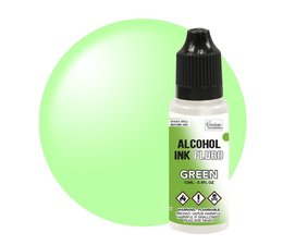 Couture Creations Alcohol Ink FLURO Green 12ml (CO727958)