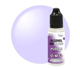 Couture Creations Alcohol Ink FLURO Purple 12ml (CO727965)