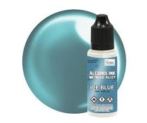 Couture Creations Alcohol Ink Metallics Ice Blue 12ml (CO727887)