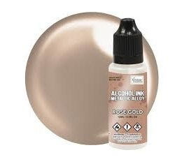 Couture Creations Alcohol Ink Metallics Rose Gold 12ml (CO727889)