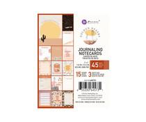 Prima Marketing Golden Desert 3x4 Inch Journaling Cards (645731)