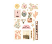 Prima Marketing Golden Desert Wood Stickers (646820)