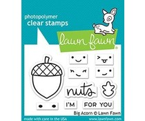 Lawn Fawn Big Acorn Clear Stamps (LF2403)