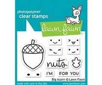 Lawn Fawn Big Acorn Clear Stamps (LF2403)