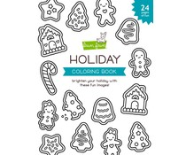 Lawn Fawn Holiday Coloring Book (LF2400)