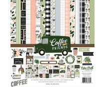 Echo Park Coffee & Friends 12x12 Inch Collection Kit (CF230016)