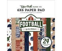 Echo Park Football 6x6 Inch Paper Pad (FO228023)
