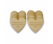 My Favorite Things Long Distance Hugs Friendship Tokens (SUPPLY-2022)