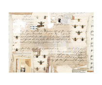 Re-Design with Prima Mysterious Notes Decor Rice Paper (651206)