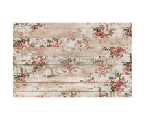 Re-Design with Prima Shabby Floral 19x30 Inch Tissue Paper (647711)