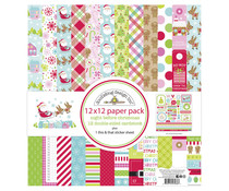 Doodlebug Design Night Before Christmas 12x12 Inch Paper Pack (7038)