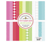 Doodlebug Design Night Before Christmas 12x12 Inch Petite Print Paper Pack (7041)