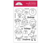 Doodlebug Design Night Before Christmas Doodle Stamps (6978)