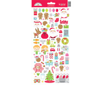 Doodlebug Design Night Before Christmas Icons Sticker (6995)