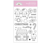Doodlebug Design Visions of Sugarplums Doodle Stamps (6980)