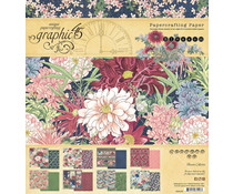Graphic 45 Blossom 8x8 Inch Paper Pad (4502159)