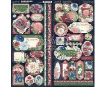 Graphic 45 Blossom Stickers (4502163)