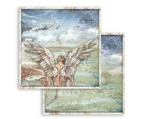 Stamperia Sir Vagabond Wings 12x12 Inch Paper Sheets (10pcs) (SBB749)