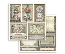 Stamperia Sir Vagabond Cards 12x12 Inch Paper Sheets (10pcs) (SBB750)