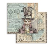 Stamperia Sir Vagabond 12x12 Inch Paper Sheets (10pcs) (SBB745)