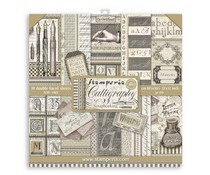 Stamperia Calligraphy 12x12 Inch Paper Pack (SBBL79)