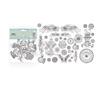 Stamperia Clear Die Cuts Sir Vagabond (DFLDCP01)