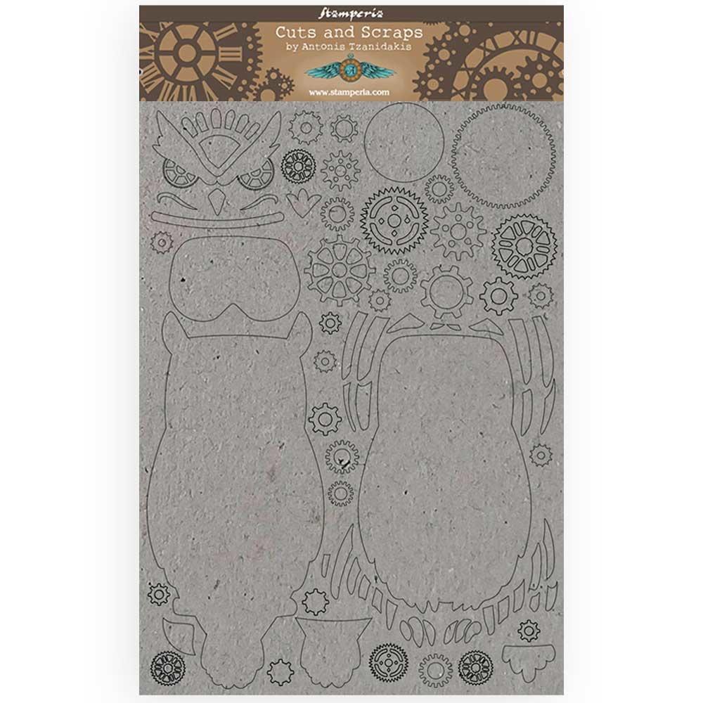 Wood. Stamperia journaling cuts and scraps /_ dream A5 Scrapbooking