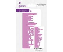 Gemini Best of British London Skyline Embossing Folder (GEM-EF5-BOBLS)