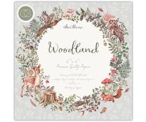 Craft Consortium Woodland 6x6 Inch Paper Pad (CCPPAD023B)
