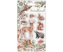 Craft Consortium Woodland Animals Stamps (CCSTMP053)
