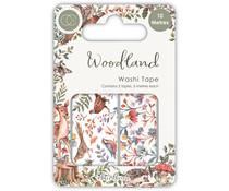 Craft Consortium Woodland Washi Tape (CCWTPE007)