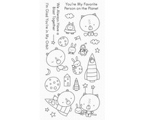 My Favorite Things Blastoff Buddies Clear Stamps (CS-530)