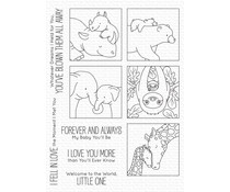 My Favorite Things I'll Love You Forever Clear Stamps (BB-116)