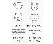 My Favorite Things Missing You Every Single Day Clear Stamps (CS-523)