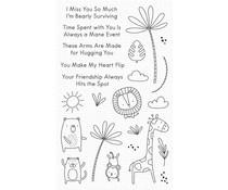 My Favorite Things Sweet Safari Clear Stamps (CS-526)