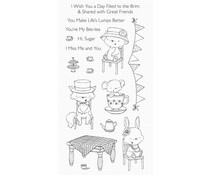 My Favorite Things Tea Party Clear Stamps (SY-27)