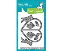 Lawn Fawn Center Picture Window Card Heart Add-On Dies (LF2473)