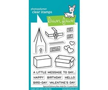 Lawn Fawn Special Delivery Box Add-On Clear Stamps (LF2468)