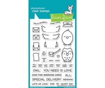 Lawn Fawn Special Delivery Clear Stamps (LF2466)
