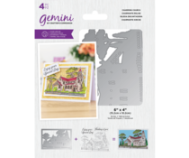 Gemini Charming Church Stamp & Die (GEM-STD-CHAR)