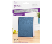 Gemini Gossamer Lace 3D Embossing Folder (GEM-EF5-3D-GOLA)