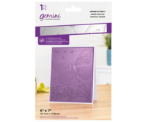 Gemini Grande Butterfly 3D Embossing Folder (GEM-EF5-3D-GRBU)