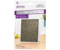 Gemini Vintage Scroll 3D Embossing Folder (GEM-EF5-3D-VSC)