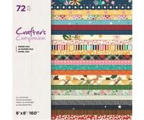 Crafter's Companion All Occasions 8x8 Inch Paper Pad (CC-PAD8-ALLOC)