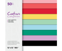 Crafter's Companion Everyday Brights 12x12 Inch Paper Pad (CC-PAD12-EVEBR)