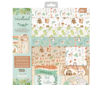 Crafter's Companion Woodland Friends 12x12 Inch Vellum Pad (NG-WFR-VELPAD12)