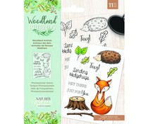 Crafter's Companion Woodland Friends Clear Stamps Woodland Animals (NG-WFR-STP-WANI)